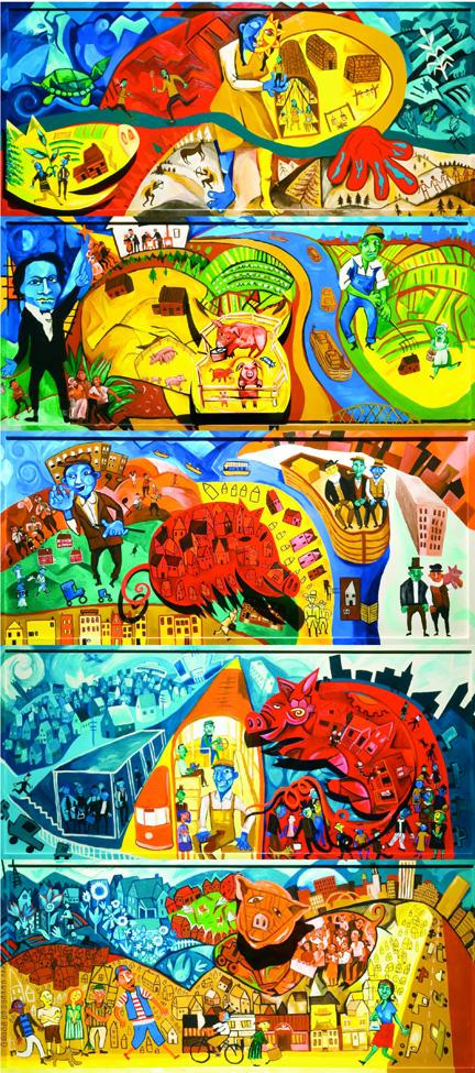 Swillburg's Pembroke Street Art Panels